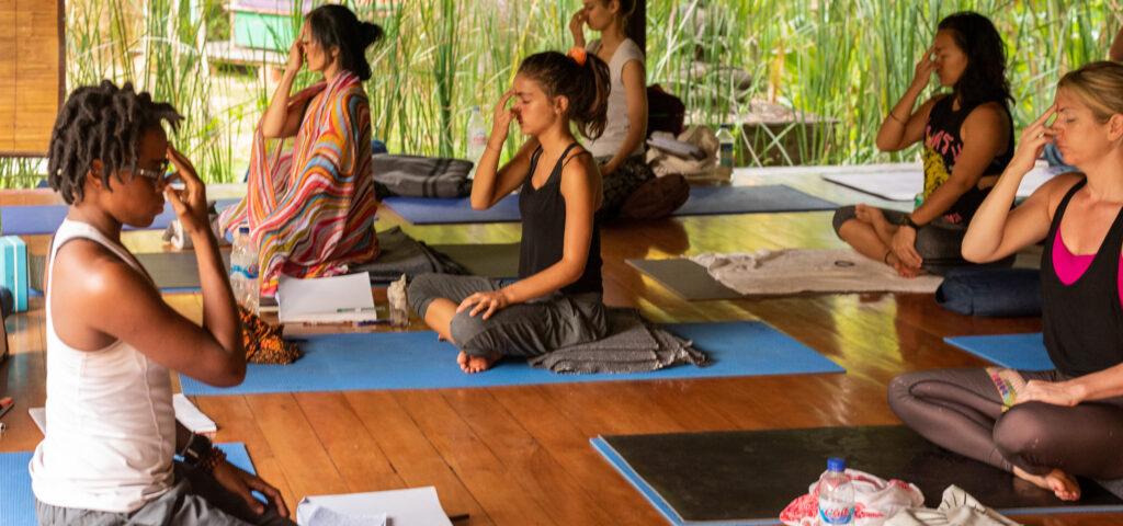 yogic breathing part 1